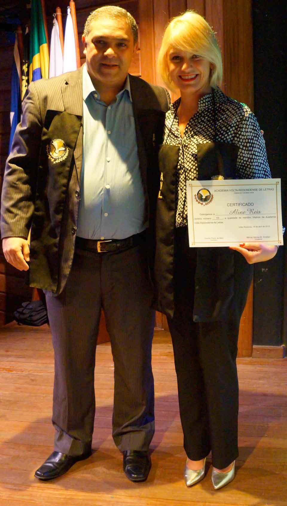 Cerimônia de posse no GACEMSS II - Posse de Aline Reis