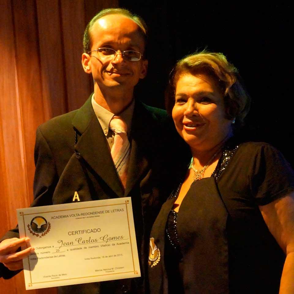 Cerimônia de posse no GACEMSS II - Posse de Jean Carlos Gomes