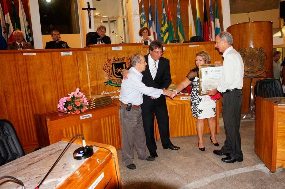 Cerimônia de entrega de Título de Utilidade Pública